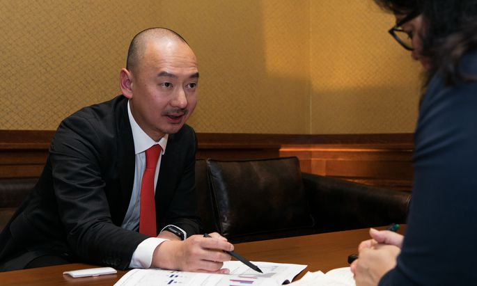 Fondsmanager William Yuen ist trotz Konjunkturflaute für den chinesischen Aktienmarkt optimistisch.