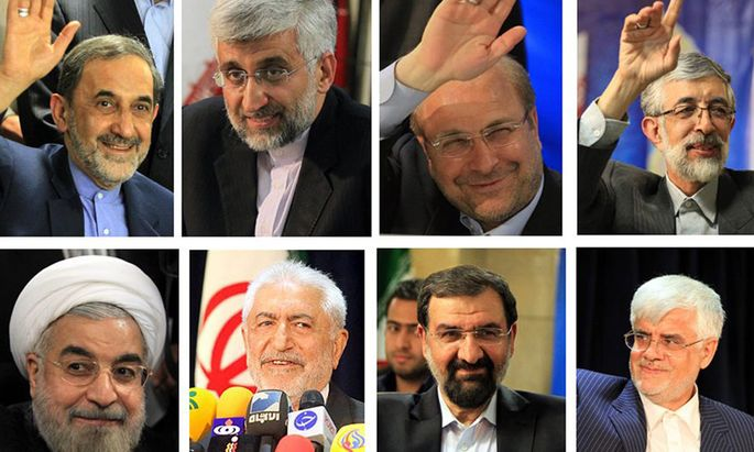 Iran Präsidentenwahl.
