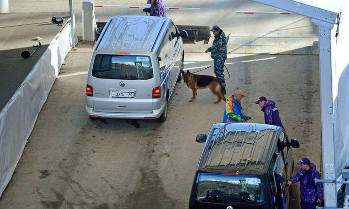 OLYMPIA - Olympische Spiele 2014, Sicherheitskontrollen