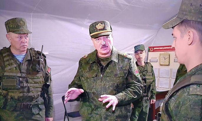 Der weißrussische Staatschef Alexander Lukaschenko