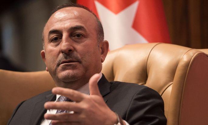 Außenminister Mevlüt Çavuşoğlu