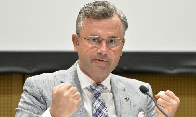 Verkehrsminister Norbert Hofer (FPÖ)