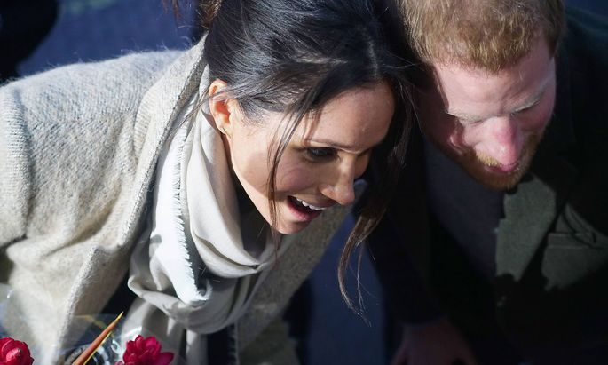 Prince Harry and Meghan Markle visit Reprezent 107.3FM in Brixton, to see their work supporting young people through cr