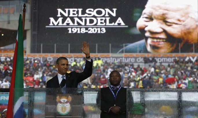U.S. Präsident Obama, Johannesburg
