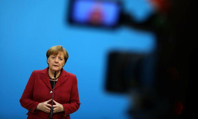 Kanzlerin Angela Merkel geizt mit Einblicken in ihr Seelenleben.