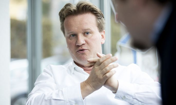 Georg Knill, 47, ist der neue Mann an der Spitze der IV.