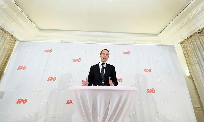 Christian Kern gewöhnt sich langsam an seine Rolle als Oppositionsführer. Beim Reformparteitag im Oktober 2018 will er sich der Wiederwahl als SPÖ-Vorsitzender stellen, wie er am Dienstag nach der Präsidiumsklausur im Gartenhotel Altmannsdorf den Medien erklärte.
