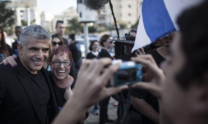 Yair Lapid, Held der Netanjahu-Gegner.