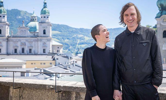 Lars Eidinger und Verena Altenberger, Jedermann und Buhlschaft.