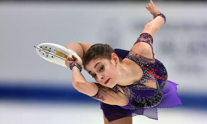 Einzigartig, filigran – zu Recht Europameisterin: Alena Kostornaja.