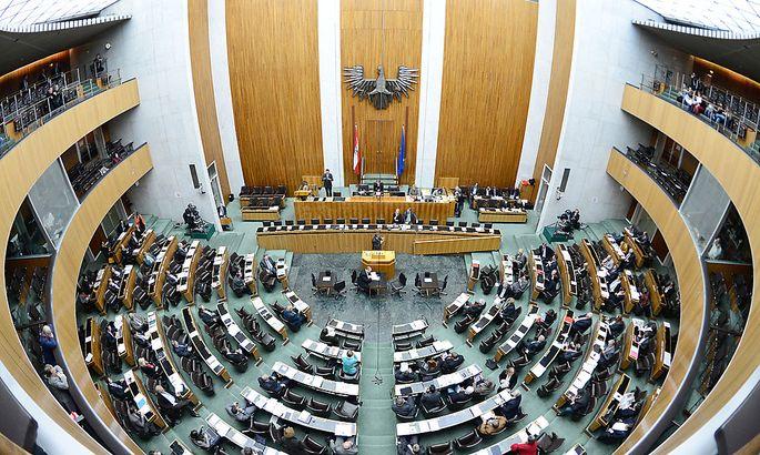 Archivbild: Der österreichische Nationalrat