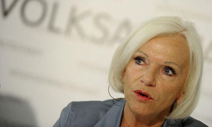 Gertrude Brinek, Vorsitzende der Volksanwaltschaft