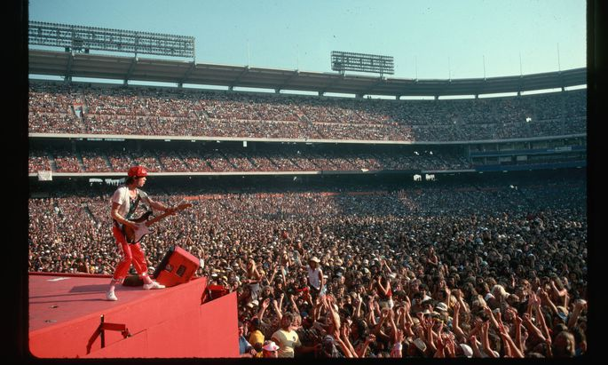Werden auch die Rolling Stones wieder live spielen? Wenn ja, wie paradiesisch ist diese Vorstellung?