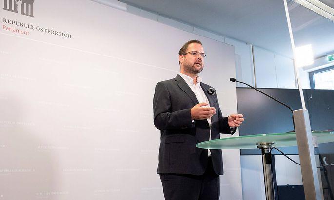 FPÖ-Fraktionsführer Christian Hafenecker wurde positiv getestet.