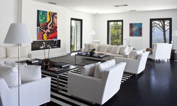 Passend zu einem internationalen Portfolio: Villa in der Toskana.