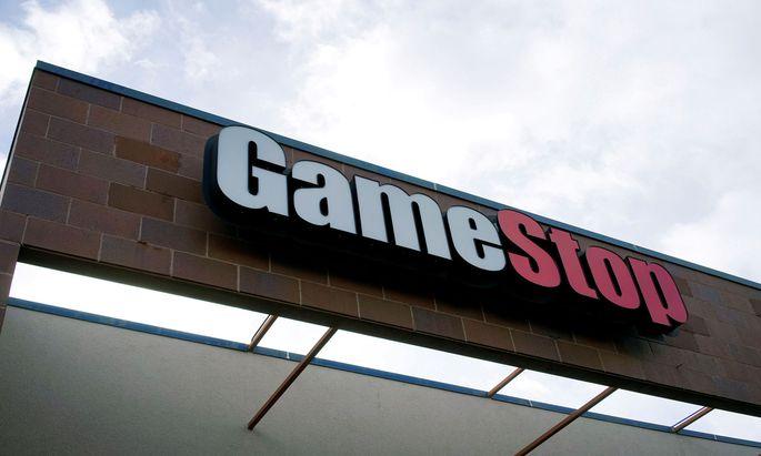 Beim angeschlagenen Videospiele-Händler GameStop haben Privatanleger den Kurs hochgetrieben.