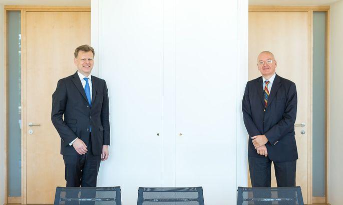 Clemens Hasenauer und Georg Kodek