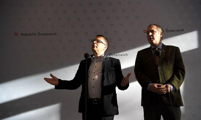 REGIERUNGSKLAUSUR: WOeGINGER / ROSENKRANZ