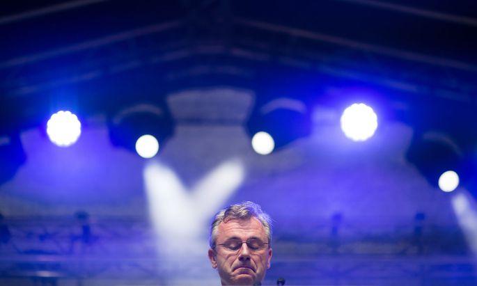 FPÖ-Chef Norbert Hofer trat zurück