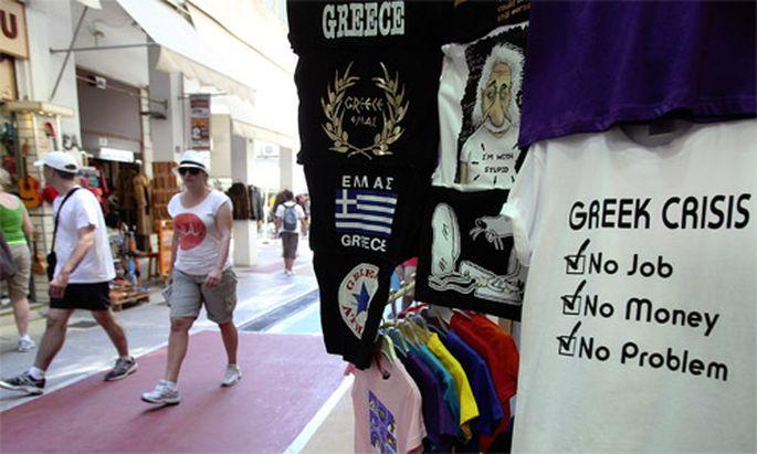 Grieche ohne Einkommen ueberweist