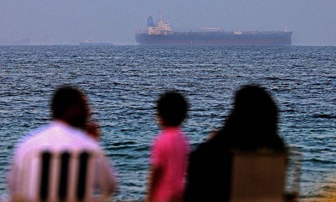 Archivbild: Dies ist der Tanker, der aus Sicht mehrerer Länder vom Iran per Drohne attackiert wurde.