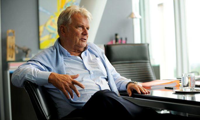 Der Industrielle Hans Peter Haselsteiner sitzt seit Mai 2014 für die Neos im ORF-Stiftungsrat.