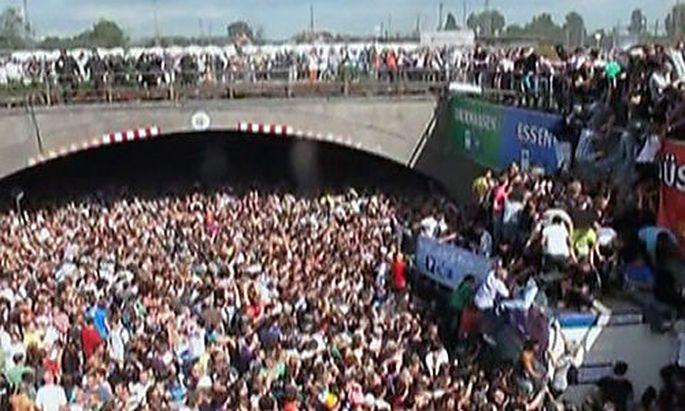 Loveparade-Katastrophe in Duisburg