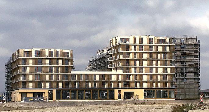 """Die neue Bücherei entsteht im Gebäude """"Quartier am Seebogen"""" nahe der U2-Station Seestadt und des neuen dortigen Bildungscampus."""