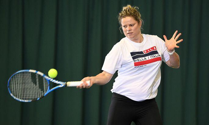 Kim Clijsters schuftete in den vergangenen Monaten für ihr Comeback – mit 36.