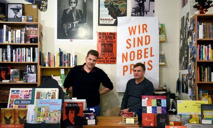 Der Kärntner Posautz, Kunsthistoriker, und der Wiener Bernhard Bastien, gelernter Buchhändler, sind nicht nur Bob-Dylan-Fans.