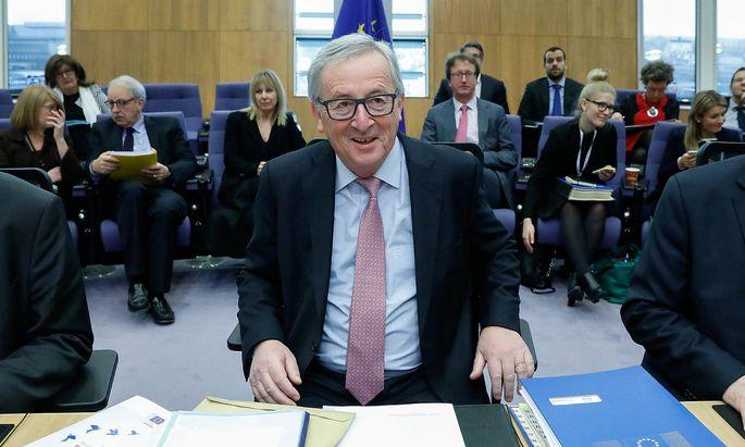 Kommissionschef Juncker