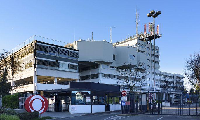 studio broadcasting station ORF Zentrum K�niglberg Wien Vienna Wien Austria 13 Hietzing