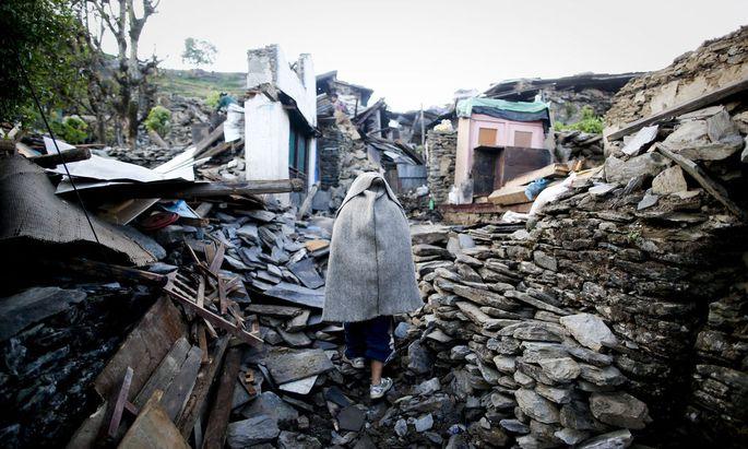 epaselect NEPAL EARTHQUAKE AFTERMATH