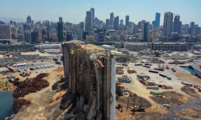 Ein Jahr nach der veheereden Explosion in Beirut sind die Schäden der Katastrophe noch immer nicht behoben.