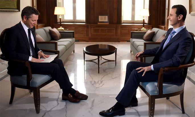 Assad, interviewt von Tom Kleijn.