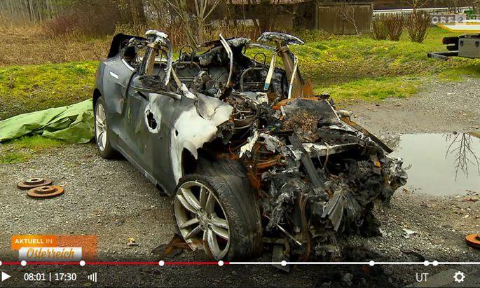 Der ausgebrannte Tesla
