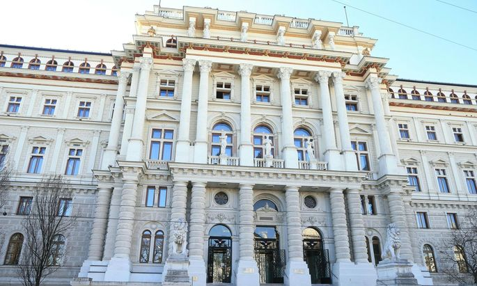 Oberster Gerichtshof Wien.