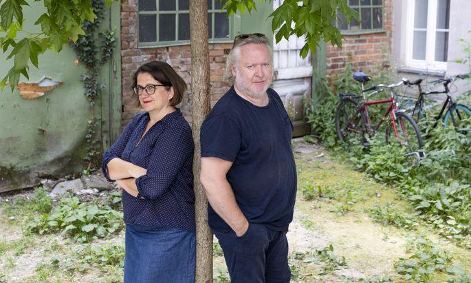 Magda Leeb und Gregor Seberg.