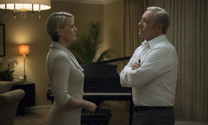 RELEASE DATE 2013 Season 3 TITLE House of Cards STUDIO DIRECTOR Beau Willimon PLOT A Congress