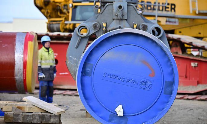 Wladimir Putin hatte im Jänner gesagt, dass Russland die Gaspipeline Nord Stream 2 aus eigener Kraft fertigstellen könne (Archivbild).