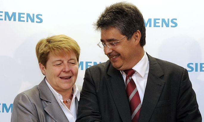 Netzwerkerin Brigitte Ederer holte Wolfgang Hesoun zu Siemens.