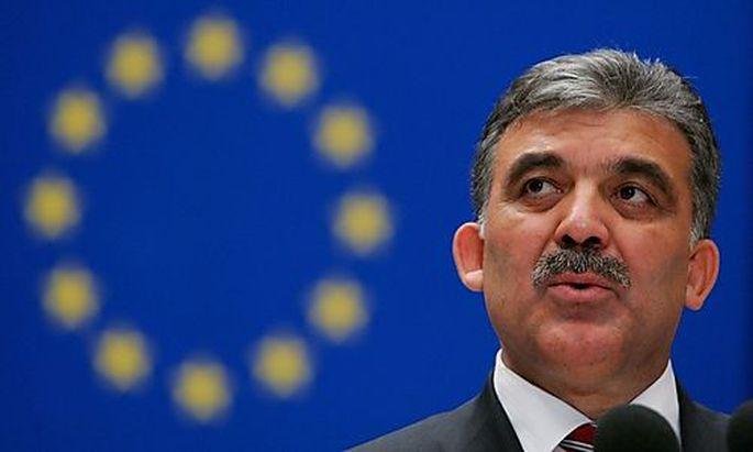 Der türkische Staatschef auf Besuch in Österreich