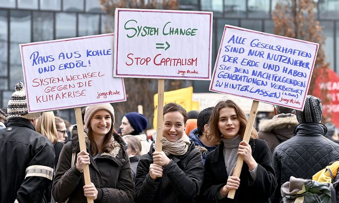 KLIMASTREIK: PLATTFORM 'FRIDAYS FOR FUTURE'