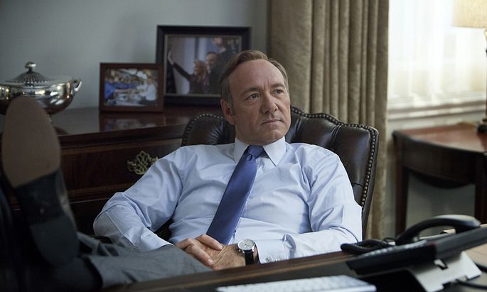 Kevin Spacey in ''House of Cards''