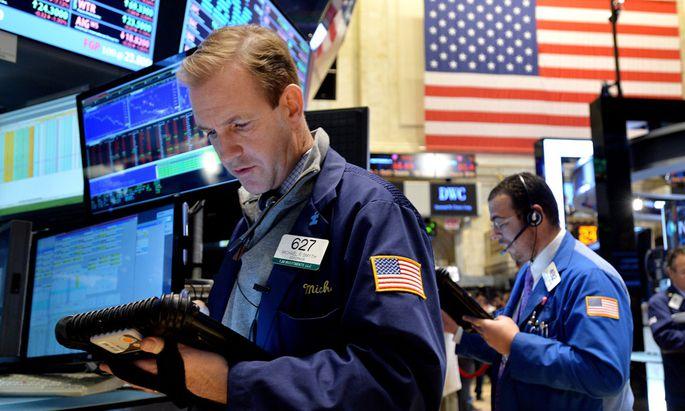 Börsencrash, Dow Jones