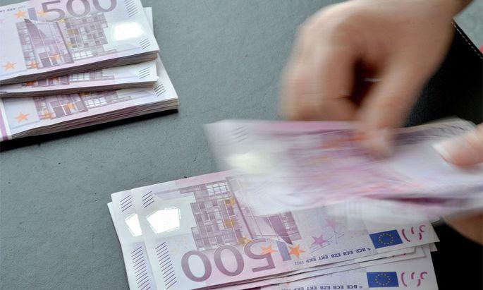 Symbolbild: Pensionsgeld.