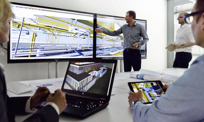 BIM im Einsatz bei ATP architekten ingenieure in München.