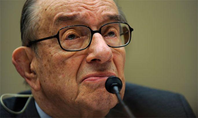 Alan Greenspan Euro gescheitert