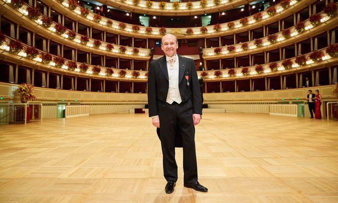 Hier noch in der Wiener Staatsoper, bald schon an der Mailänder Scala: Dominique Meyer steht vor dem nächsten Kulissenwechsel.