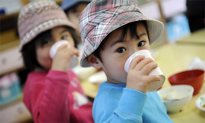 Radioaktivitaet Japan verbietet gruenen